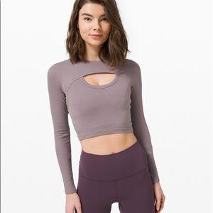 LULULEMON Better Best Long sleeve size small lilac